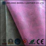 Leder der Möbel-PU/PVC für Aufladungs-Schuh-Beutel