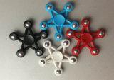 2017の新製品のおもちゃの落着きのなさの紡績工自閉症およびAdhdのためのプラスチックEDC手の紡績工
