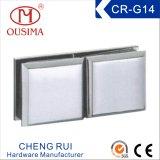 亜鉛合金の固定ガラス(CR-G14)で使用されるArc-Shaped 90度のガラス付属品