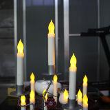 Vela Votive Flameless da vara longa do diodo emissor de luz