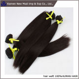 Capelli umani brasiliani di estensione diritta dei capelli umani della Cina Silkly