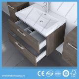 ヨーロッパ式MDFのデラックスな現代浴室は2側面の虚栄心(BF123N)とセットした
