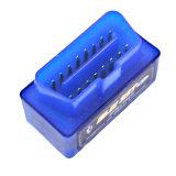 Buena herramienta de diagnóstico auto barata del olmo 327 OBD2 Bluetooth de la calidad de V1.5 azul