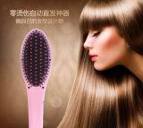 Peine automático del pelo del pelo del peine mágico de la enderezadora