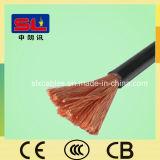 Câble souple échoué par isolation de cuivre du fil électrique 6mm de PVC H07V-K de faisceau