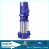 Pompe à plusieurs étages à pression centrifuge entraînée par la ceinture