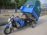 2015 motocicleta de la rueda del triciclo tres de la cabina de programa piloto del cierre