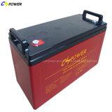 3 Garantie-der tiefen Schleife-Gel-Jahre Solarbatterie-12V120ah vom Stromnetz
