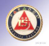 防空のミサイル発射機3Dの真鍮の記念品の硬貨(JJ10-C063)