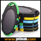 5000mAh Waterproof o carregador solar da bateria externa com USB duplo