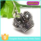 Metallprinzessin Crown Pendant der Form-3D für Armband #11935