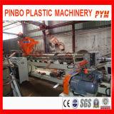 Completare la riga di plastica che ricicla il macchinario