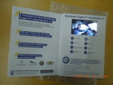 Folleto video - tarjeta de felicitación video del Tarjeta-Vídeo del saludo del LCD del libro
