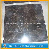 Tuiles de marbre foncées chinoises bon marché d'Emperador /Brown pour l'étage de cuisine