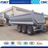 3 차축 Tipper Semi Trailer 또는 Dump Truck (WL9400ZX)