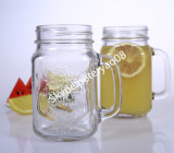 0.6L Glass Juice Bottle con Click Ceramic Lid