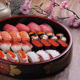 De automatische Scherpe Machine van het Broodje van Maki van Sushi Suzumo