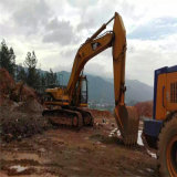 Lagarta usada 330b da máquina escavadora, lagarta 320b