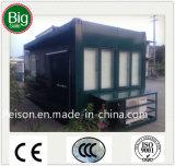 Café móvil conveniente/barra prefabricados de la calle/prefabricados