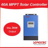 regulador 24V de la carga del panel solar de las visualizaciones de 60A LCD