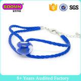 Form-Schmucksache-handgemachtes Goldliebes-Charme-Verpackungs-Seil-Armband für Paare #568