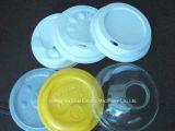 China-bester Preis-Plastikkaffeetasse-Kappen-Nahrungsmitteltellersegment, das Maschine herstellend sich bildet