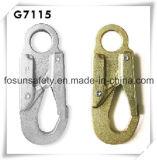 Gestempelter Stahlsicherheits-verzinkter Seil-Verschluss-Haken