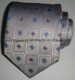 Cravate de piste du jacquard tissée par soie des hommes neufs