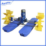 Рыбы и Shrimp Pond Farming Equipment 1HP 2paddles Paddlewheel Aerator