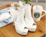 Ботинки женщин платформы высокой пятки способа с пряжкой (HC 08)
