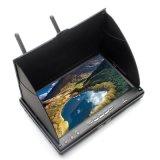 Eachine LCD5802s 5.8g 32CH de Monitor van de Ontvanger van de Diversiteit van 7 Duim met bouwstijl-in de Batterij van de Ontvanger