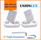 Unionlux 최신 판매 Offroad 일 빛 똑바른 부류에 의하여 구부려지는 LED 바 빛 장착 브래킷