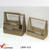 Nova cesta de plantão de madeira de madeira tradicional Slat Wood