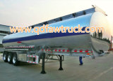 Remorque en aluminium de réservoir de certificat d'Adr/DOT