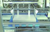 Full ad alta velocità Automatic Feeder Feeding Board a Flute Laminating Machine