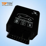 Bluetooth Canbus GPS OBDの追跡者は、燃料消費料量を、反不正変更する注意深いTk228-Ezを検出する