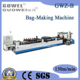 Internet de alta velocidade 3 Side Sealing Zipper Permanente Bag Making Machine (GWZ-B)