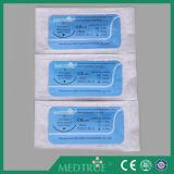 CE/ISO goedgekeurde Medische Beschikbare Snelle Polyglycolic Zure Chirurgische Hechting met Naald