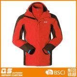 1枚の暖かい方法ジャケットに付き人3枚