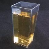 플라스틱 컵 키 큰 기하학적인 컵 해록색 3.5 온스