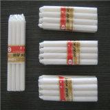 fábrica blanca común barata de la vela de la cera 22g