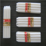 Candela bianca poco costosa della candela/colonna della candela/Houesehold di prezzi 35g in Nigeria