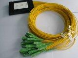 divisore ottico della fibra del contenitore di ABS 1X32, divisore di fibra ottica, divisore ottico del PLC della fibra con l'alta qualità