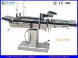 Coste eléctrico Radiolucent quirúrgico del vector de la sala de operaciones del hospital