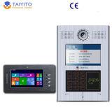 Связанный проволокой обеспеченностью IP телефона двери Vido в видео- системе телефона двери