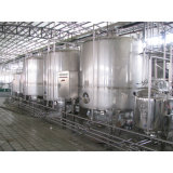 De volledige Automatische het Drinken 3000L/H Installatie van de Verwerking van de Yoghurt