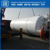 El tanque de almacenaje criogénico del GASERO del argón del CO2 del oxígeno líquido de la perlita