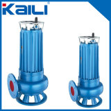 Pompa ad acqua sommergibile delle acque luride con l'unità di taglio