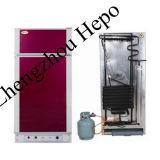 Refrigerador silencioso da absorção do querosene do gás com congelador (HP-XCD95)