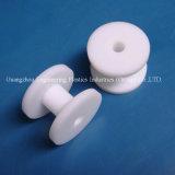 De witte Plastic PE HDPE1000 Wielen van de Katrol